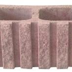 Blocks de Concreto cara de Piedra